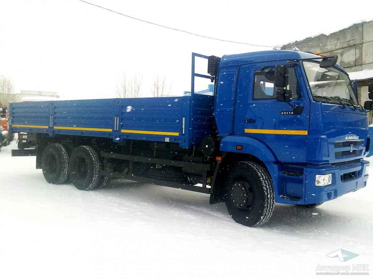 Бортовой 6м КАМАЗ 65115